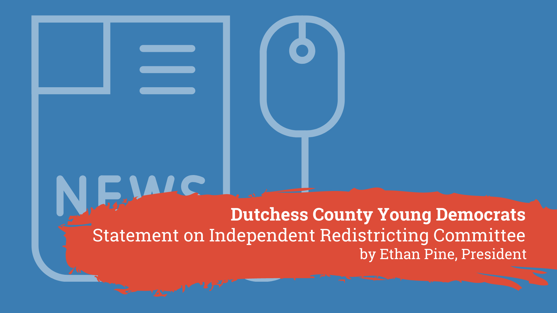 Statement on Redistricting Committee Graphic